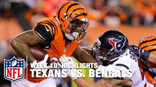 Texans vs. Bengals | Week 10 Highlights | NFL
