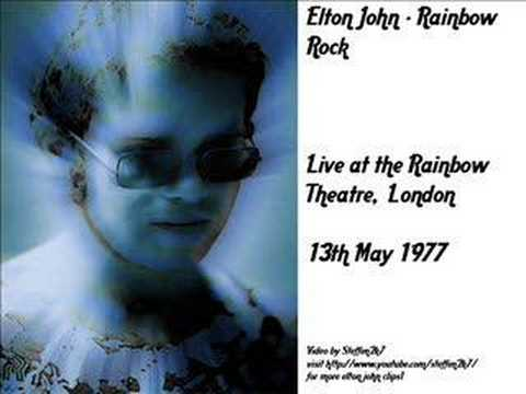 Elton John - Funeral for a Friend (Live Rainbow Theatre 1977