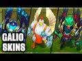 All Galio Skins Spotlight (League of Legends)