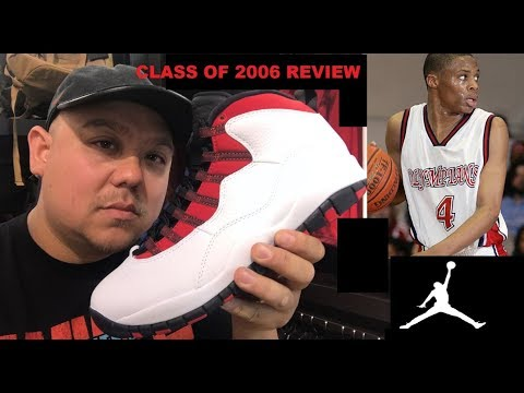 Air Jordan 10 Olympians Russell Westbrook Class Of 2006 Retro Sneaker Review By Dj Delz