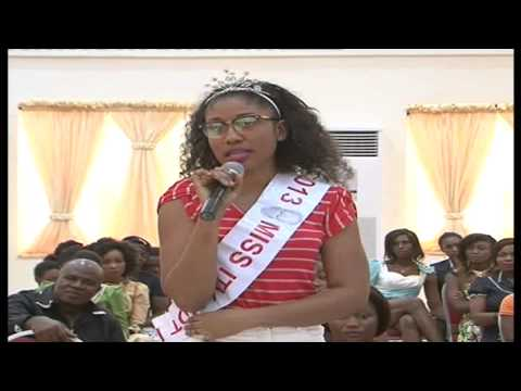 First Auditioning Of ITV Miss Hot Leg And Fashion On The Runway Held In Benin