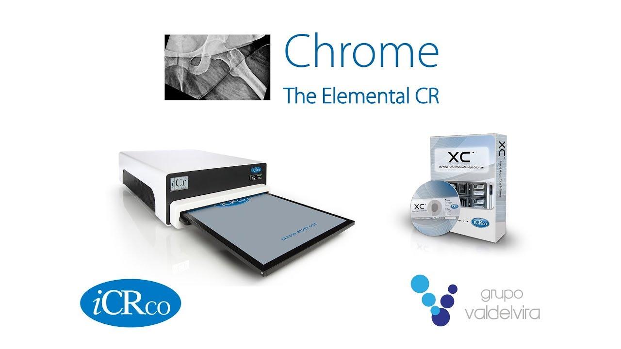 Reveladora digital CHROME RC de iCRco