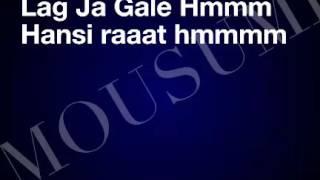 LAG JA GALE WITH LYRICS - LATA MANGESHKAR