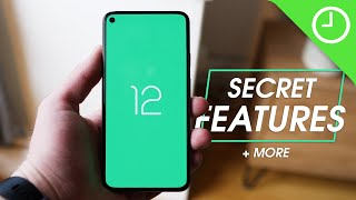 Android 12 Developer Preview 1: SECRET features + MORE!