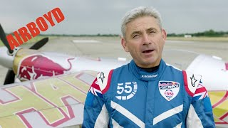 Paul Bonhomme Track Explanation Red Bull Air Race Budapest (2018)