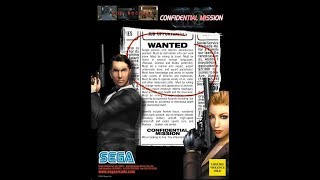 Arcade longplay - Confidential mission