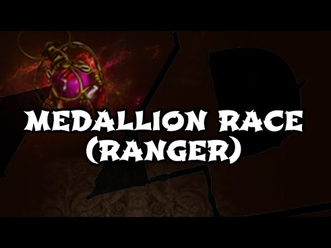 Path of Exile: MEDALLION RACE (Ranger) Commentary - This Season's Signature Event (MDS003)