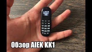 aIEK KK1 - Мини мобильный телефон, Bluetooth гарнитура из Китая