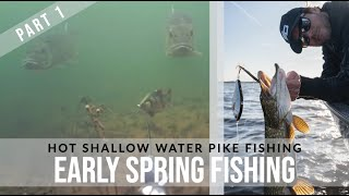 HOT Early Spring Fishing Pike Fishing Tactics Part 1