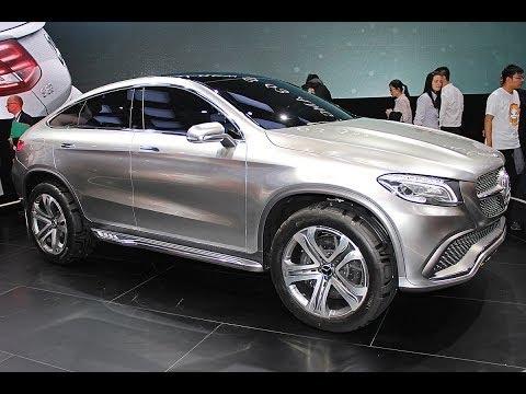 Mercedes Concept Coupé SUV / MLC - Peking Auto Show 2014