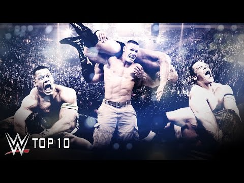 John Cena's Hardest-fought Victories - WWE Top 10