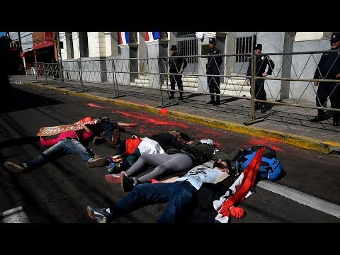 Paraguayan activists die in to protest against embassy move to Jerusalem