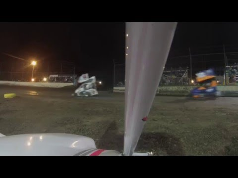 08E Jr Sprint A feature win MAY 14th 2016 PORT CITY RACEWAY