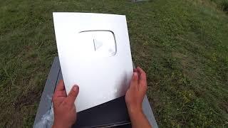 Серебряная награда (кнопка) YouTube. Новости с водоёма.
