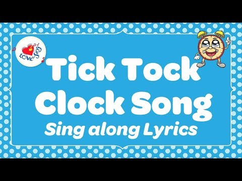Tick Tock Clock Song | Fun Circle Time Song for Kids | Children Love to Sing