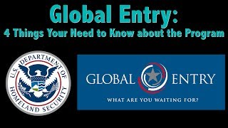 What is Global Entry?: Four Things You Need to Know