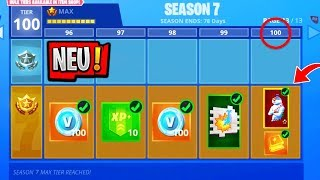 SEASON 7 BATTLE PASS!! 😱 Skins & Leaks | Level 100 Skin | Fortnite Season 7
