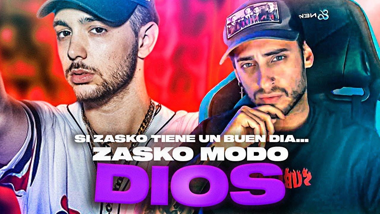 BLON REACCIONA A ZASKO EN MODO DIOS | Si Zasko tiene un buen día...