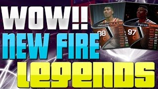 NBA Live 15 Ultimate Team, HUGE Legend Pack Opening, New Legends Are Fire