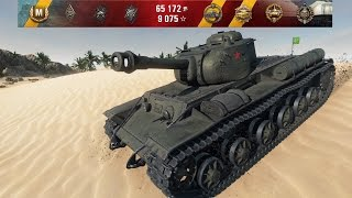 wot best game in kv 1s on 0 9 10   13 kills sand river