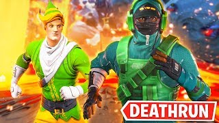 Racing Lachlan in NEW Deathrun!