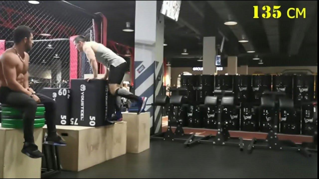 Кто выше прыгает? Заруба большой vs маленький