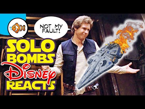 SOLO BOMBS! DISNEY REACTS! What