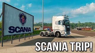 Scania Trip! - Yetd And Scandinavian Dlc (euro Truck Simulator 2)