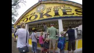 Minnesota State Fair 2014 - $15 Bucket Of Chocolate Chip Cookies From Sweet Martha's Cookie Jar
