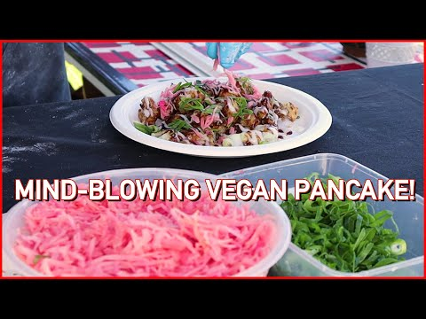This GRILLED Vegan Pancake is MIND-BLOWING! 😮😋 Even Meat Eaters Will Like It! – VEGAN OKONOMIYAKI