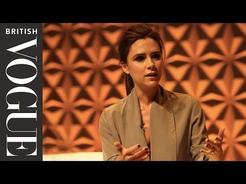Victoria Beckham Speaks at Vogue Festival | Vogue Festival 2013 | British Vogue