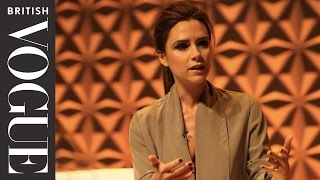 Victoria Beckham at The Vogue Festival 2013