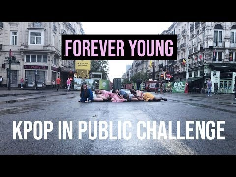 [KPOP IN PUBLIC CHALLENGEBRUSSELS] BLACKPINK - 'Forever Young' Dance Cover by Move Nation 2018