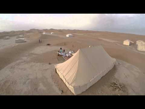 DJI Phantom Flight 1 at Erg Chigaga (Raw Footage)
