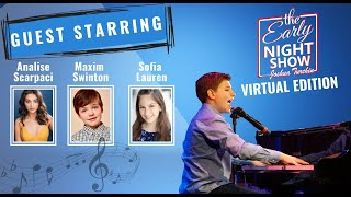 S3 Ep9 Joshua talks Mrs. Doubtfire w Analise Scarpaci, comedy w Maxim Swinton, Sofia Lauren sings