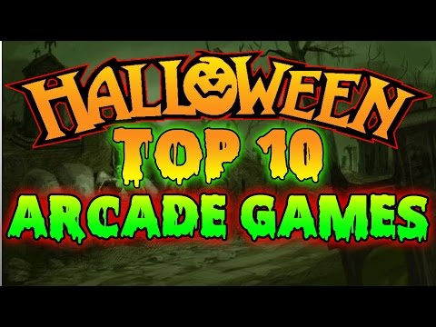 💀 Top 10 HALLOWEEN Arcade Games 2015 💀