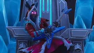 "NEW LEGENDARY SKIN ""KRAMPUS""! BAG OLD COSTUME! (Fortnite Battle Royale)"