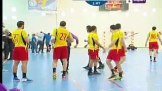 بالفيديو.. فرحة هيستيرية لأبطال نادي الزمالك لكرة اليد عقب الفوز على الترجي