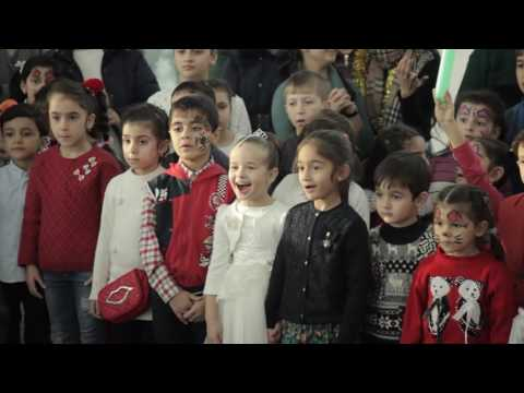 Port of Baku organized New Year party for children