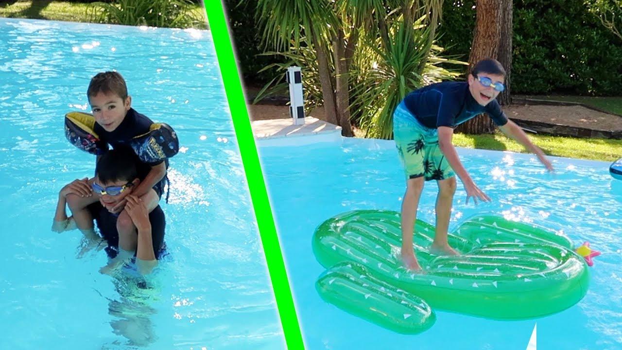 Cap ou pas cap piscine vos d fis les plus fous youtube for Swan et neo piscine