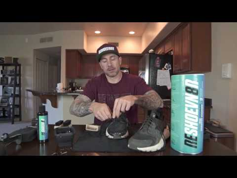 How to deep clean Huaraches with Reshoevn8r