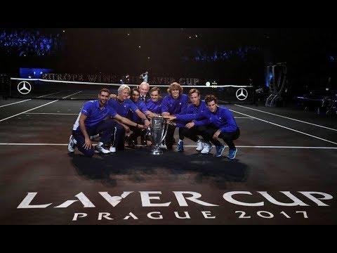 Roger Federer LAVERCUP 2017 Ceremonia De Premiacion