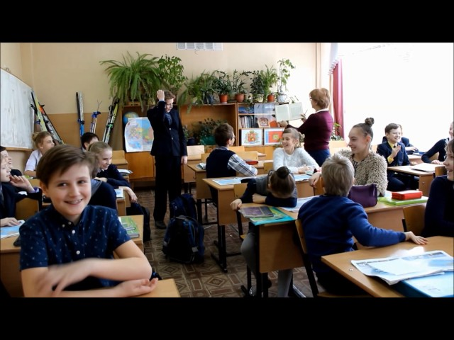 """Изображение предпросмотра прочтения – «""""Весёлые пятиклассники""""» представляют буктрейлер кпроизведению «Мальчики» А.П.Чехова"""