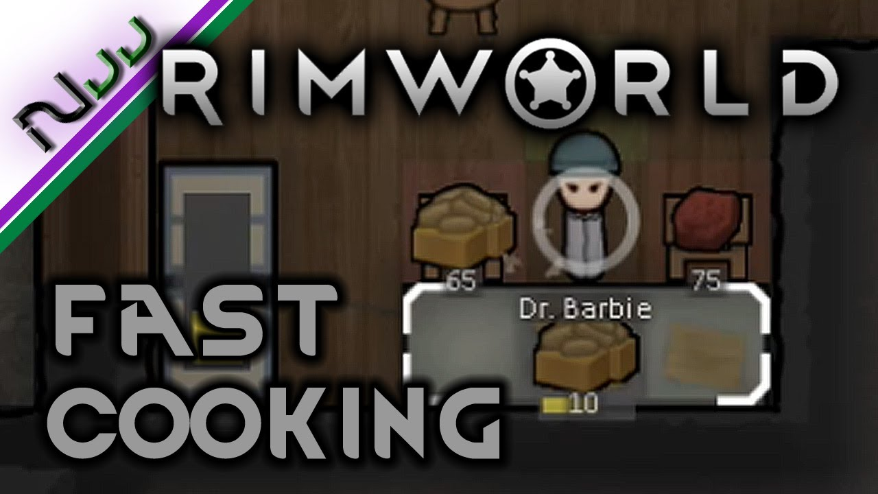 RimWorld - How to Cook Fast - Guide to Efficient Cooking - Alpha 14