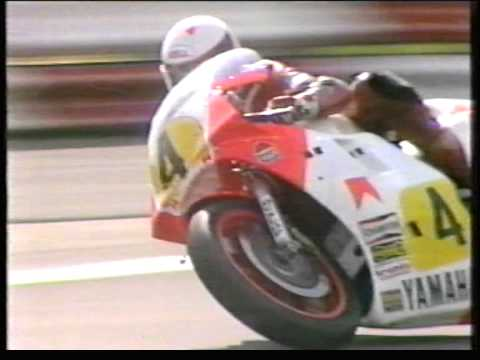 1984 British Motorcycle 500 Grand Prix from Silverstone