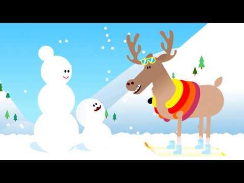 Video Les aventures de Big Brosse et Mini Brosse   Brossage à ski avec Markus le Mono