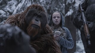 War For The Planet of the Apes ALL TRAILERS + MOVIE CLIPS