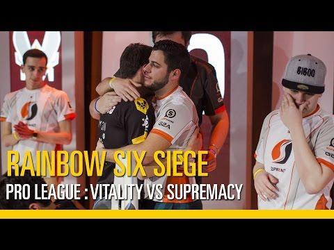 Rainbow Six Siege – Finales de la Pro League – VITALITY vs. SUPREMACY