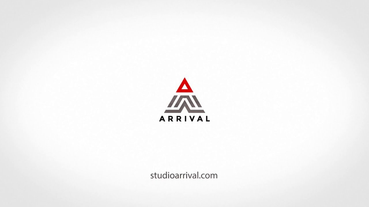 arrival animated logo youtube