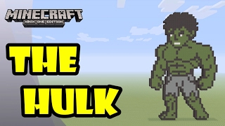 Minecraft: Pixel Art Tutorial and Showcase: The HULK (Thor: Ragnarok)